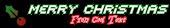 Font Sevenet 7 Christmas Symbol Logo Preview