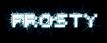 Font Sevenet 7 Frosty Logo Preview
