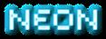 Font Sevenet 7 Neon Logo Preview