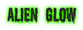 Font Shlop Alien Glow Logo Preview