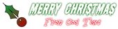 Font Shlop Christmas Symbol Logo Preview