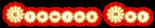 Glowing Hot Logo Style