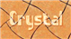 Font Sideways Crystal Logo Preview