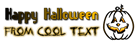 Font Sideways Halloween Symbol Logo Preview