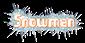 Font Sideways Snowman Logo Preview