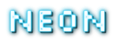 Font Silkscreen Neon Logo Preview