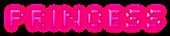 Font Silkscreen Princess Logo Preview