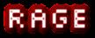 Font Silkscreen Rage Logo Preview