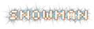Font Silkscreen Snowman Logo Preview