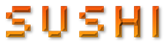 Font Silkscreen Sushi Logo Preview