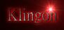 Klingon Logo Style
