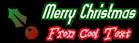 Font Slimania Christmas Symbol Logo Preview