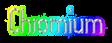 Font Slimania Chromium Logo Preview