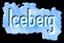 Font Slimania Iceberg Logo Preview