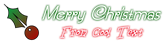 Font SouciSans Christmas Symbol Logo Preview