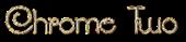Font SouciSans Chrome Two Logo Preview