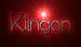 Font SouciSans Klingon Logo Preview