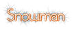 Font SouciSans Snowman Logo Preview