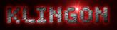 Font Spaceboy Klingon Logo Preview