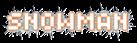 Font Spaceboy Snowman Logo Preview