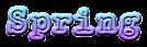 Font Splendid 66 Spring Logo Preview