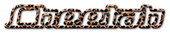 Font Starbat Cheetah Logo Preview