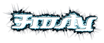 Font Starbat Frosty Logo Preview