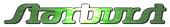 Font Starbat Starburst Logo Preview