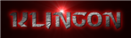 Font Starcraft Klingon Logo Preview