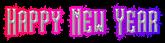 Happy New Year Logo Style