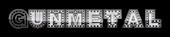 Font SteelTown Gunmetal Logo Preview