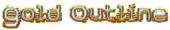 Font Stock Quote Gold Outline Logo Preview