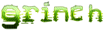 Font Stock Quote Grinch Logo Preview
