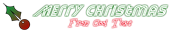 Font Street Cred Christmas Symbol Logo Preview