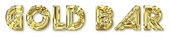 Font Street Cred Gold Bar Logo Preview