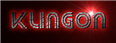 Font Street Cred Klingon Logo Preview