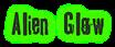 Font Tablhoide Alien Glow Logo Preview