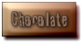 Font Tablhoide Chocolate Button Logo Preview