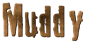Font Tablhoide Muddy Logo Preview