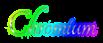 Font Tangerine Chromium Logo Preview