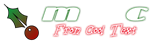 Font TaraBulbous Christmas Symbol Logo Preview