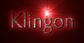 Font Tenderness Klingon Logo Preview