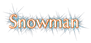 Font Tenderness Snowman Logo Preview