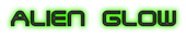 Font Terminator 2 Alien Glow Logo Preview