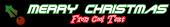 Font Terminator 2 Christmas Symbol Logo Preview
