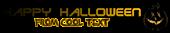 Font Terminator 2 Halloween Symbol Logo Preview