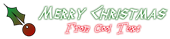 Font Thor Christmas Symbol Logo Preview