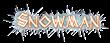 Font Thor Snowman Logo Preview