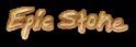 Font Tibetan Beefgarden Epic Stone Logo Preview