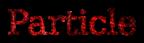 Font Titr Particle Logo Preview